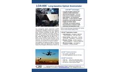OSi - Model LOA-005 - Long-Baseline Optical Anemometer - Brochure
