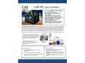 OSi LLM-100 Laser Level Meter - Brochure