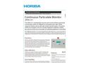 HORIBA - APDA-371 - Ambient Dust Monitor Brochure