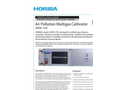HORIBA - APMC-370 - Air Pollution Multigas Calibrator Brochure
