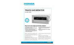 HORIBA - GA-360E Series - Trace Gas Monitor Brochure