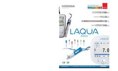 LAQUA - DS-70 Series - Benchtop Conductivity Meter Brochure