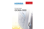 OCMA-500 - Oil Content Analyzer - Brochure