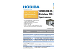 HORIBA - Model VS7000-CCD-HS - Miniature CCD Spectrometer Brochure