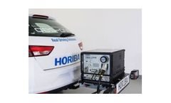 HORIBA - Model OBS-ONE - Real Driving Emissions Monitoring System