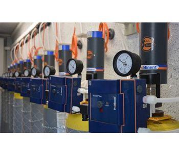 Vacuum dosing system for chlorine gas DULCO Vaq