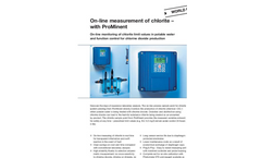 ProMinent Dulcotest - Sensors for Chlorite - Brochure