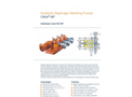 ProMinent Orlita - Model MF - Hydraulic Diaphragm Metering Pump - Brochure