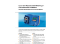 ProMinent Dulco - Model Flex DF4a - Peristaltic Pump - Brochure