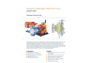 ProMinent Orlita - Model MH - Hydraulic Diaphragm Metering Pump - Brochure