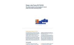 ProMinent Rotados - Model - Rotary Lobe Pump Brochure