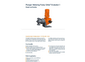 Orlita Evolution - Model 2 - Plunger Metering Pump Brochure