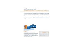 ProMinent Von Taine - Centrifugal Pump - Brochure