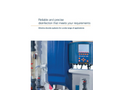 ProMinent Bello Zon - Model CDLb - Chlorine Dioxide System with Multiple Points of Injection - Brochure