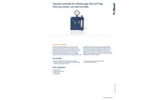 ProMinent Dulco Vaq - Vacuum Controller for Chlorine Gas - Brochure