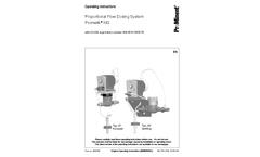 Promatik - Model NG - Metering System Brochure