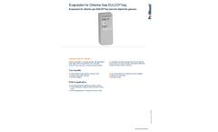 ProMinent Dulco Vaq - Evaporator for Chlorine Gas - Brochure
