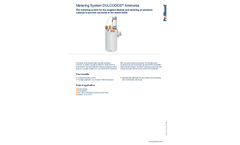ProMinent Dulcodos - Ammonia Metering System - Brochure