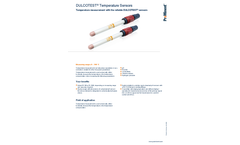 ProMinent Dulcotest - Temperature Sensors - Brochure