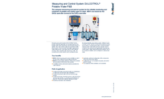 ProMinent Dulcotrol - Potable Water/F&B Measuring and Control System - Brochure