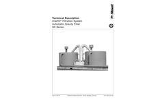 Interfilt Model SK Series - Filtration System Automatic Gravity Filter - Technical Datasheet