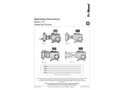 ProMinent - Model Makro TZ - Diaphragm Metering Pump - Operating Instructions Manual