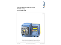 ProMinent Dulco - Model Flex DF4a - Peristaltic Pump - Assembly and Operating Instructions Manual