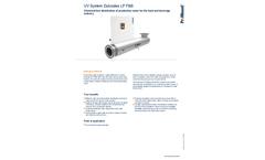 ProMinent Dulcodes - Model LP F&B - UV System - Brochure