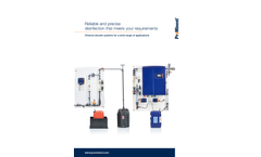 ProMinent - Chlorine Dioxide Systems - Brochure