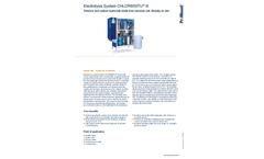 ProMinent Chlorinsitu - Model III - Electrolysis System - Brochure