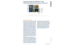 ProMinent Chlorinsitu - Model V Plus - Electrolysis System - Brochure