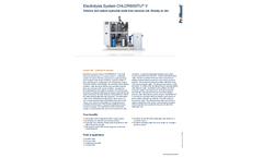 ProMinent Chlorinsitu - Model V - Electrolysis System - Brochure