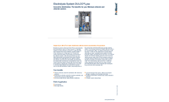 ProMinent Dulco Lyse - Electrolysis System - Brochure