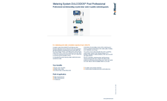 ProMinent Dulcodos - Professional Pool Metering Systems - Brochure