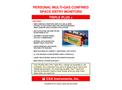 Model Triple Plus + - Personal Multi-Gas Confined Space Entry Monitors - Brochure