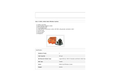 Model MWRS - Mobile Wash/Filtration Systems - Datasheet
