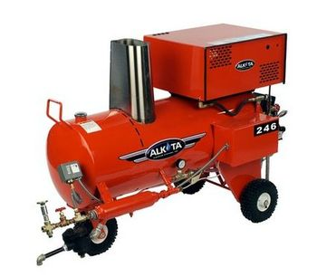 Alkota - Model 246 - Steam Cleaners - Dry Steamer