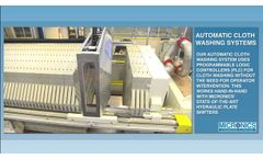 Automatic Filter Cloth Washing Systems from Micronics, Inc  - Video