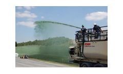 Erosion control solutions for the hydraulic applications/seeding areas