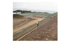 Erosion control solutions for the slope protection
