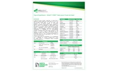 BioNet C125BN Erosion Control Mantle - Specification Sheet (Spanish)