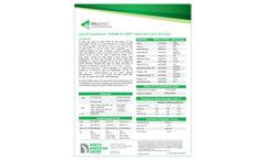 BioNet SC150BN Erosion Control Mantle - Specification Sheet (Spanish)