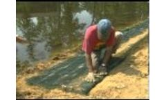 North American Green Product Installation - Shoreline and Streambanks - Video