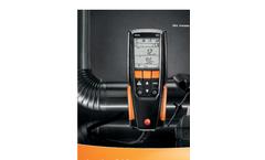 testo 310 residential combustion analyzer