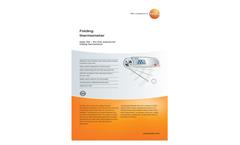 testo 104 Waterproof Food Probe Therm Brochure