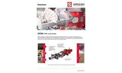 Smicon - Model SP280/SP300 - Screw Compression Filter - Brochure