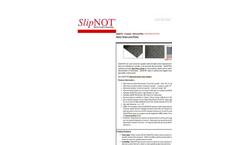 SlipNOT - Slip Resistant Plates - Datasheet