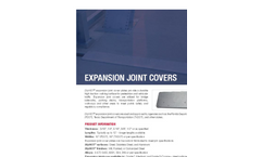 SlipNOT - Expansion Joint Covers - Datasheet