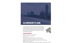 SlipNOT - Aluminum Punched Plank Grating - Datasheet