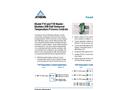 F10 and F30 Master Modules DIN Rail Universal Temperature Process Controls Datasheet